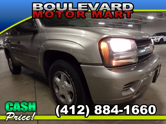 2002 Chevrolet TrailBlazer LS 4WD 4-Speed Automatic