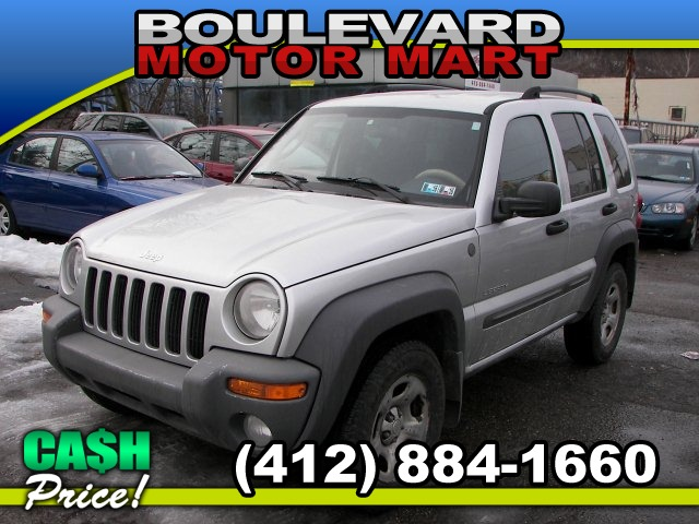 2004 Jeep Liberty 4-Door Sport 4WD