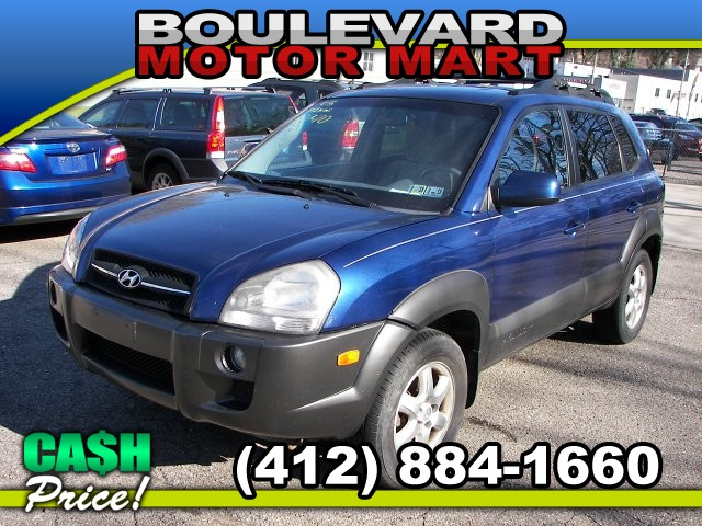 2005 Hyundai Tucson GLS 2.7 4WD 4-Speed Automatic