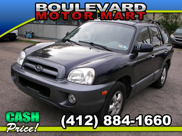 2005 Hyundai Santa Fe LX 4WD 5-Speed Automatic