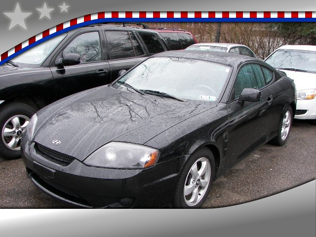 2005 Hyundai Tiburon 2-Door Coupe GS I4